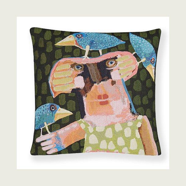 Dame med torpedofugle
