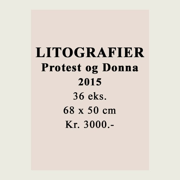 Litografi serie Leif Sylvester 2015